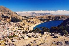 Yuri Martins Fontes / Bolívia-2001 / Copacabana: Mirante do Lago Titicaca